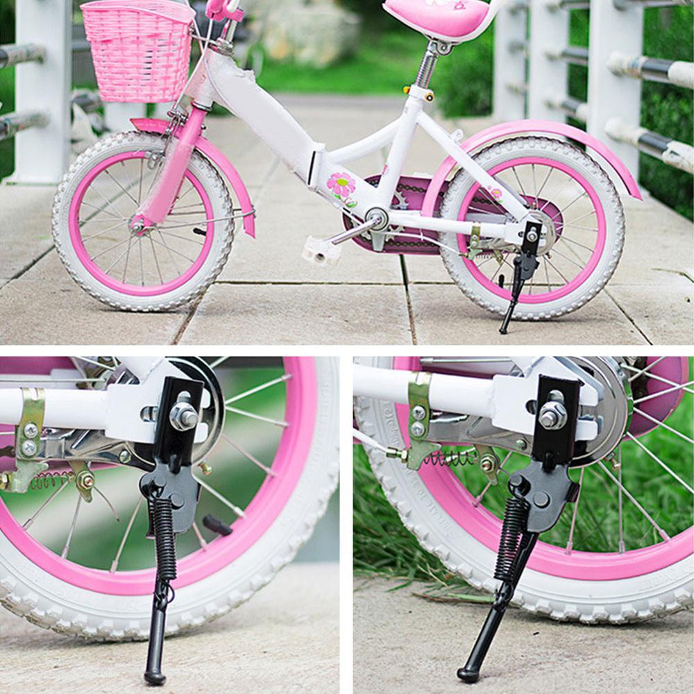 ילדי אופניים Kickstand חניה Stand ילד אופני צד מעמדי Kickstand רגל תמיכה 12/14/16/18/20 אינץ אופניים אבזרים