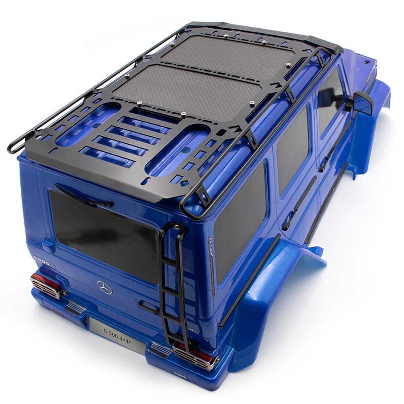 คาร์บอนไฟเบอร์กระเป๋าเดินทางสำหรับ TRAXXASPARTS G500 TRX-4 RC อะไหล่