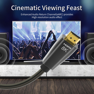 Image 5 - HDMI 2.1 Cables 8K 60Hz 4K 120Hz 48Gbps bandwidth ARC Video Cord for Amplifier TV High Definition Multimedia Interface