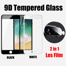 Back Camera Lens Tempered Glass For iPhone 7 8 Plus 7P 8P Screen Protector 9D Protective Glass For iPhone 6 6S Plus 6p Lens Film аксессуар защита камеры apres metal ring lens protector для iphone 6 plus 6s plus black