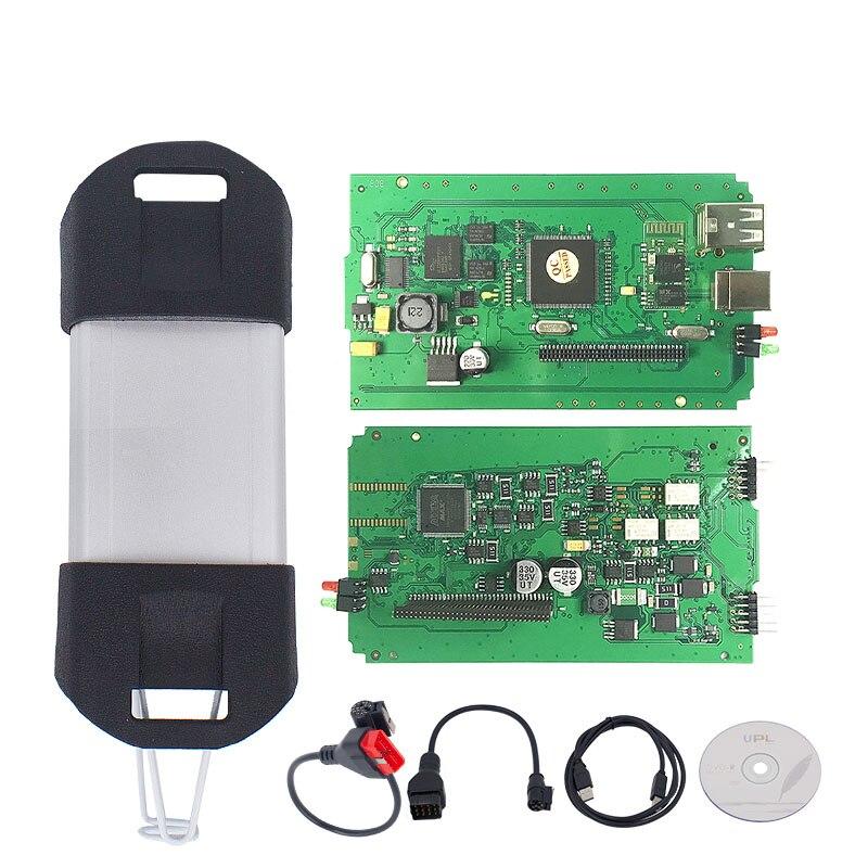 Para Renault Can Clip V190 Chip completo con CYPRESS AN2135SC/2136SC Chip oro PCB Board V178 Can Clip herramienta de diagnóstico del coche - 4