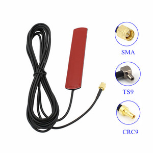 3G 4G LTE wifi patch antenna SMA TS9 CRC9 connector with 3m cable 3Dbi external antenna for Huawei router USB modem