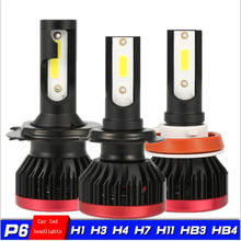 High power, super bright light LED headlights 10000 LM 100W H1 h11 h3 h7 H4led headlights 6500K white led car LED light(China)