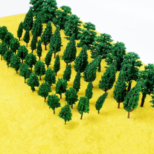 Diy 3 combined sand table model tree, handmade model tree, building suit materials, landscape scene layout, model train ho scale 1 87 40 feet refrigerater freezer flatbed accessories container ho scale train model container model train layout accessories