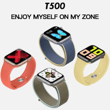Reloj inteligente T500 IWO 8 Lite 44mm, reloj inteligente deportivo con Bluetooth para IOS Android PK W34, reloj inteligente(China)