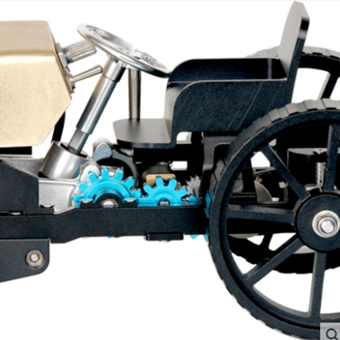 Творческий цельнометаллический Ретро модель автомобиля высокий вызов в собранном виде электрическая модель комплект - 3