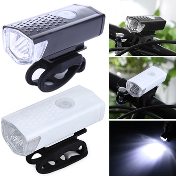Bicycle front light, outdoor riding equipment, night riding, USB charging 1pcs bicycle tail light