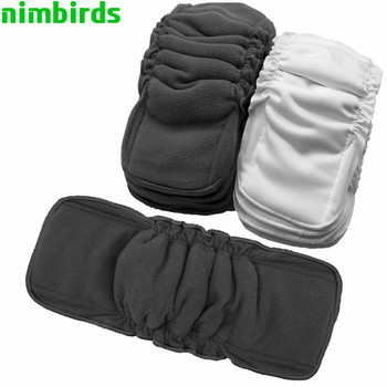 Reusable Bamboo Charcoal Insert Baby Cloth Diaper Mat Cotton Nappy Inserts Changing Liners Wholesale - discount item  44% OFF Diapering & Toilet Training
