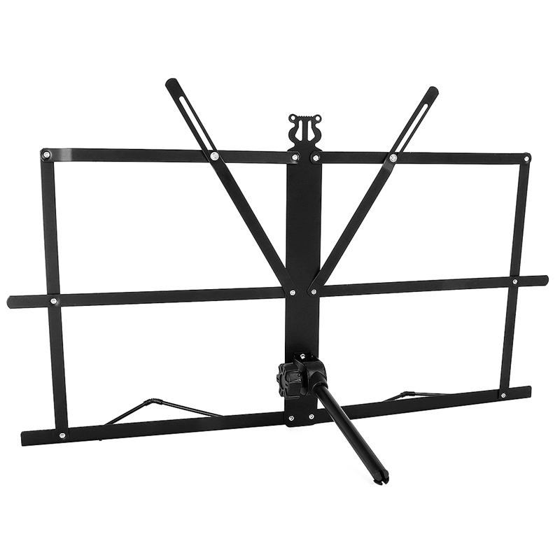 Folding Tabletop Music Stand Metal Sheet Music Holder Foldable Desktop Stand
