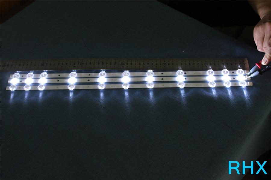 6piece/lot  11LEDs 574mm LED Backlight Strip Replacement For VESTEL 32D1334DB VES315WNDL-01 VES315WNDS-2D-R02 VES315WNDA-01