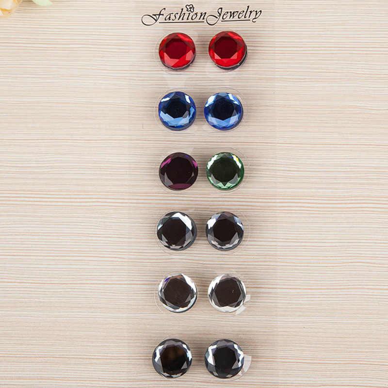 12 Pcs Magnetico Spille per Hijab Velo Abaya Chiusura Spilla di Strass Scialle Magnete Sciarpa Spille