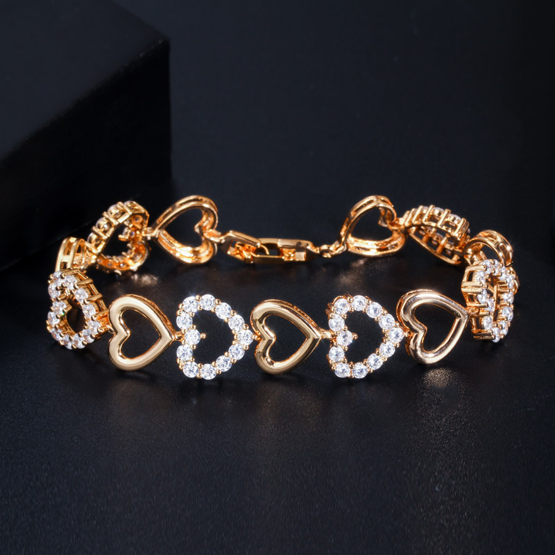 Love Heart Shape Bracelet for Women H1df9193006da4cc1b75738bea26b2c913 bracelet