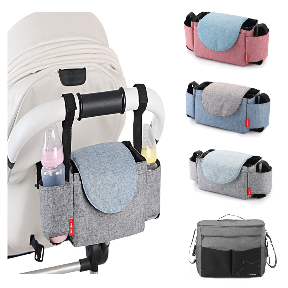 HereNice Mummy Multifunctional Stroller Bag Mom Nappy Diaper Organizer Bags Travel Designer Nursing For Baby Care Backpack