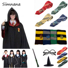 Cosplay Gryffindor Costume Potter Magic Robe Ravenclaw Hufflepuff Slytherin Cape Cloak Halloween Party Cosplay Costumes For Kids doctor strange cloak cosplay costume dr strange steve red cloaks magic robe halloween party long cape