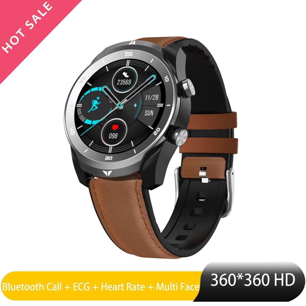 DT79 Smart Watch Men Bluetooth Call Watch Phone ECG Heart Rate IP67 Waterproof Sport Tracker android watch 360*360 HD Resolution