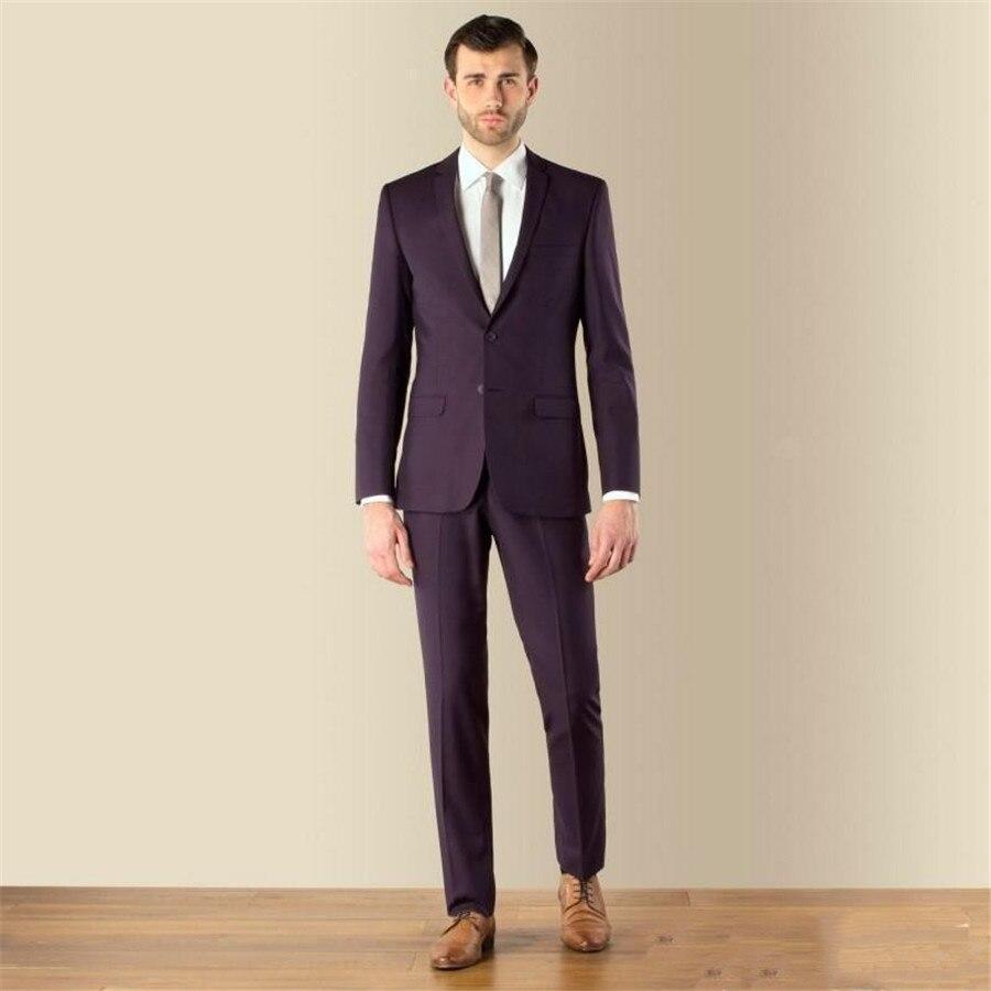 Vintage Men Formal Suits Wedding Suit Groom Groomsmen Tuxedos Two Piece Tailor-made Spring (Jacket+Pants)