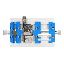 MJ K23 כפולה פיר PCB הלחמה מחזיק עבור iPhone תיקון האם הלחמה תיקון מתקן לסמסונג ריתוך תיקון כלי