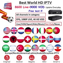 Iptv box world hd IPTV подписка Европа Германия голландский Великобритания Швеция французский Польша Испания США арабские индийские Albania Австралия