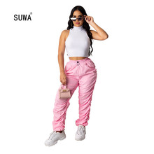Solid Color Two Piece Set Wholesale Summer Casual Women Slee
