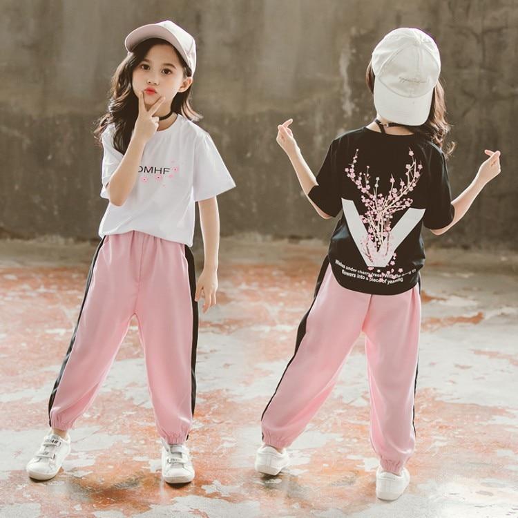2PCS Toddler Kids Baby boys girls summer Clothes Tee/&short Pants Outfits cartoon