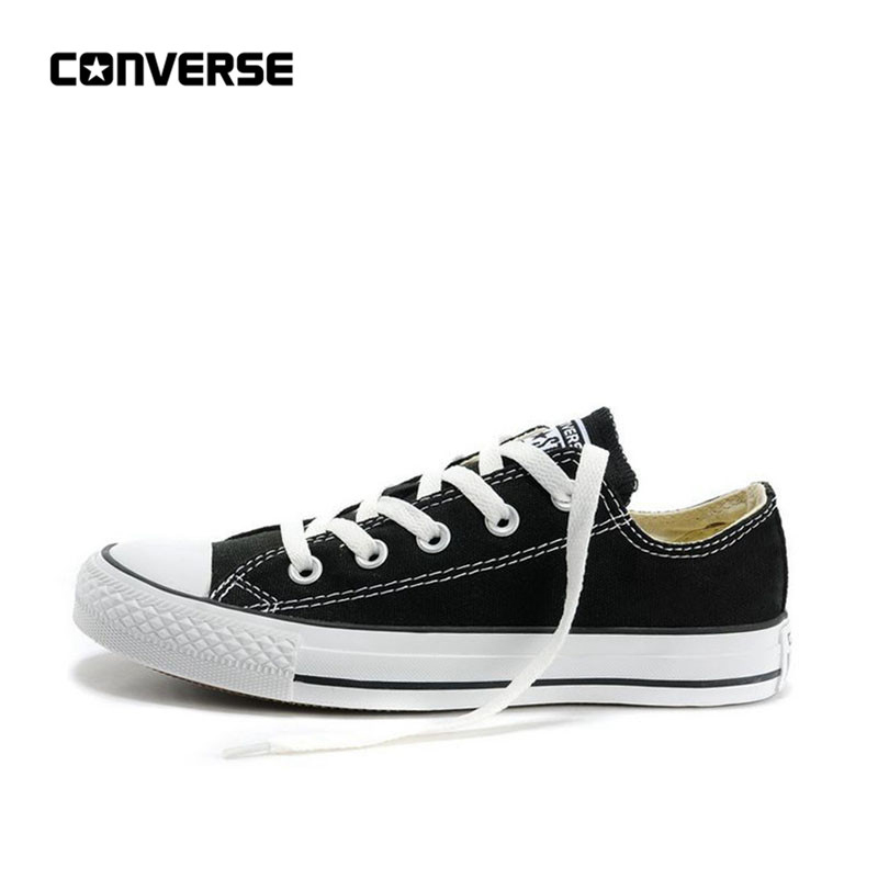 Converse Shoes Sneakers Skateboarding-Shoes Canvas Classic Black-Color All-Star Women's