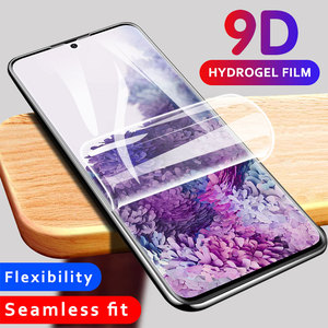 9D Soft Hydrogel Film For Samsung Galaxy S10 5G S9 S8 S20 Plus Uiltra S10e Note 10 Pro Lite Screen Protector Cover Film Not Glas(China)