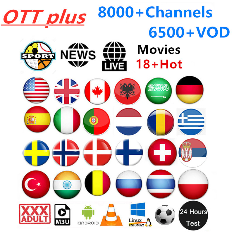 Full HD IPTV USA Canada UK Poland Latino subscription IPTV XXX Adult Android Smart tv Mag German Spain IPTV Portugal Sweden