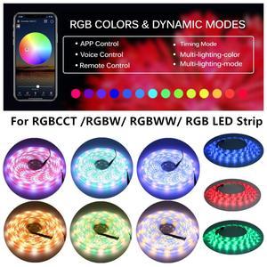 Image 5 - DC12V 24V Wifi LED בקר RGB/RGBW/RGBWW הרצועה 16 מיליון צבעים מוסיקה וטיימר מצב Wifi שליטה על ידי IOS/אנדרואיד Smartphone