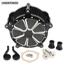 Filtres à Air contraste coupe Venturi Filtre à Air Kits de CNC pour Harley Sportster fer 883 48 soixante-quinze 72 Filtre a Air moto