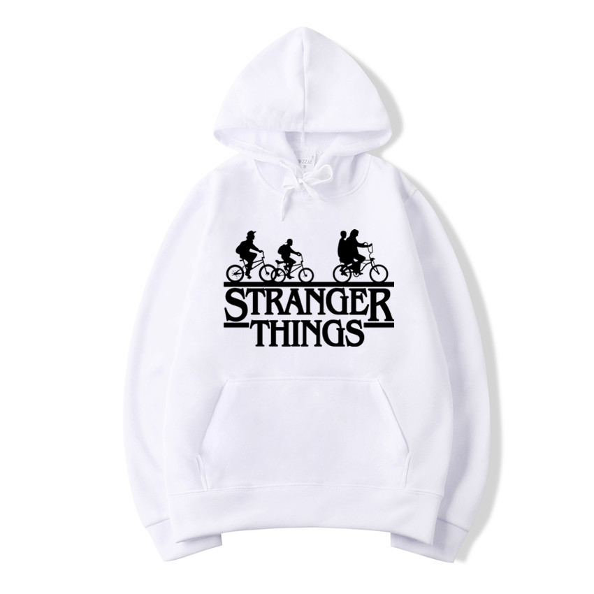 Trendy Faces Stranger Things Hooded Mens Female Style Hoodies And Sweatshirts Oversized For Autumn With Hip Hop Winter Hoodies