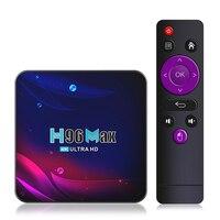 H96 Max V11 TV Box Android 11 4K Smart TV Box Android 11,0 iptv 4G 64G tvbox bluetooth 4,0 2,4G 5G Wifi Set Top Box H96MaxV11
