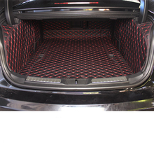 цена на lsrtw2017 for lincoln continental leather car trunk mat cargo liner 2017 2018 2019 2020