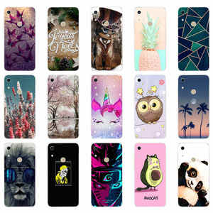 Soft case Honor 8A Case For huawei honor 8A Case Silicone TPU Back Cover Phone Case On for Huawei Honor 8A JAT-LX1 8 A Honor8A