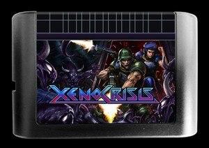 Image 2 - MD ゲーム: XENO 危機 (すべて!! 8 のための国の言語!!)