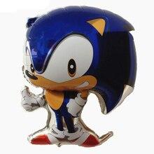 Balloons Sonic Birthday-Party-Supplies Animal-Shape Cartoon Toy Latex Boy Children Like