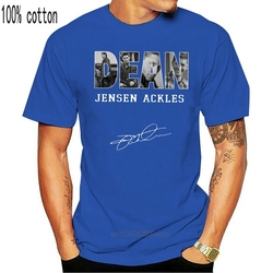 Dean Winchester Jensen Ackles T Shirt Black Full Size S 3Xl Men Tshirt Women(1)