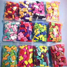 Foam Chunks Filler Slime Supplies Accessories 70pcs DIY Toys Fluffy Mud slime Decoration Beads Kids Slide Putty Toy lizun