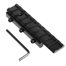 Converter Mount Dovetail Rail-Extension Picatinny-Rail-Adapter 20mm 11mm Weaver Scope-Base
