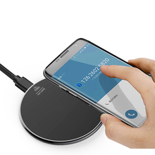 Buy Zinc Alloy 10W Quick Charge Mobile Phone Universal Metal Wireless Charger for Samsung Apple  Charger Plates directly from merchant!