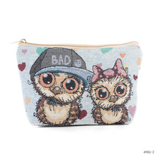 Nations Wind Makeup Bags Travel Cosmetic Bag Organizer Female Storage Make Up Cases Zipper Bath Pouch Toiletry Wash