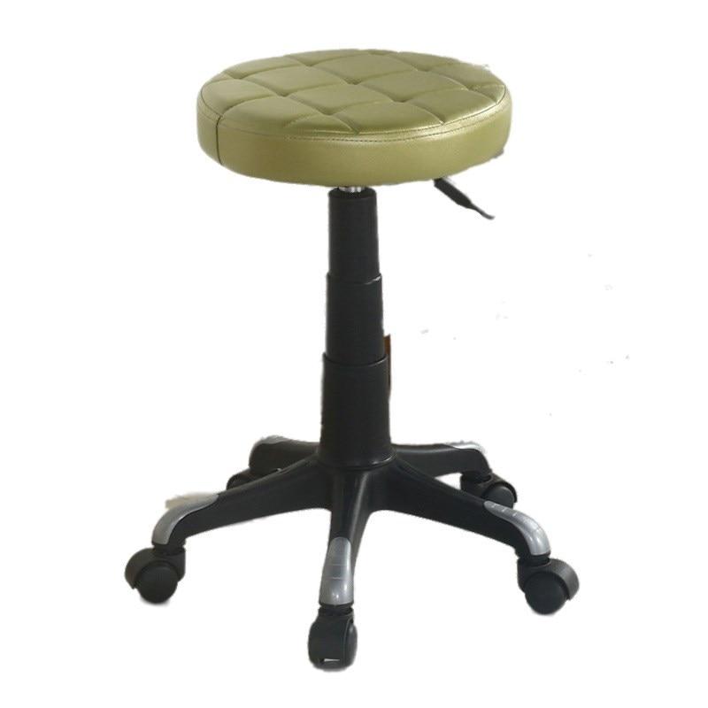 Beauty Salon Lifting Small Stool Simple Bar Chair Rotating Beauty  Nail   Beautician Work