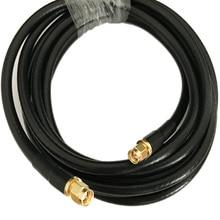 SMA Мужской к SMA разъем 5D-FB В переменного тока, 50-5 коаксиальный кабель адаптера кабеля 50Ohm 1/2/3 м 5 м 10 м 15 м