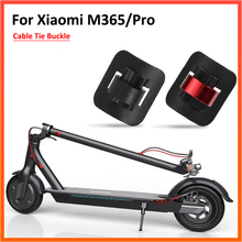 Cable-Card Skateboard-Parts Scooter Xiaomi M365 Aluminum-Alloy Clean for PRO Tie-Buckle