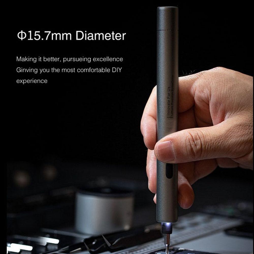 H1dfccfba25bb42818a7a78923b65a3bd8 - Electric Screwdriver  3-speed Screwdrivers Pen 24pcs Precision Bits Set Cordless Magnetic Screw Driver Phone Device Repair
