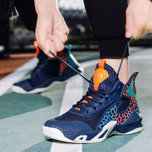 Couple Basketball Training Sports Boots Men #8217 s Blue Purple Non-slip Basketball Coach Exercise Junior Basketball Shoes Size 36-45 cheap Thestron CN(Origin) Medium(B M) Medium cut Rubber Cotton Fabric FREE FLEXIBLE Lace-Up Spring2019 Fits true to size take your normal size