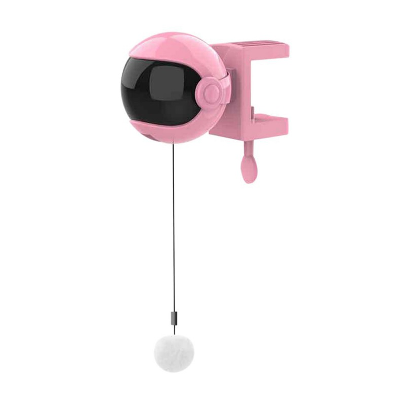 Hot Electronic Motion Cat Toy Interactive Cat Teaser Toy Yo Yo Lifting Ball Electric Flutter Rotating