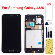 Do Samsung Galaxy J3 2016 LCD j320 SM-J320F wyświetlacz J320M J320FN J320H wyświetlacz LCD + ekran dotykowy Digitizer montaż czujnika tanie tanio AGWSUSI Pojemnościowy ekran Nowy For Samsung J3 2016 j320 SM-J320A SM-J320F SM-J320M SM-J320FN SM-J320H LCD i ekran dotykowy Digitizer