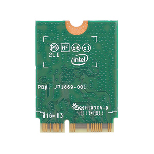 Image 3 - 433Mbps لاسلكي التيار المتناوب ثنائي النطاق واي فاي بطاقة محول إنتل 9462NGW NGFF M.2 مفتاح E مع بلوتوث 5.0 هوائيات لسطح المكتب Win10