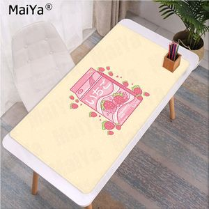 Image 4 - Maiya Fashion Kawaii Japanese Strawberry Milk Rubber Mouse Durable Desktop Mousepad Rubber PC Computer Gaming mousepad