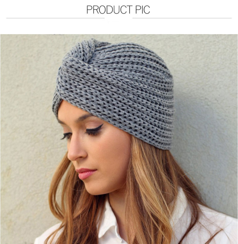 Leonlion Winter Hats For Women Thickening Knitted Hat Beanie Winter Hat Women Braided Hair Band Warm Beanies Twisted Knot Solid Women S Skullies Beanies Aliexpress